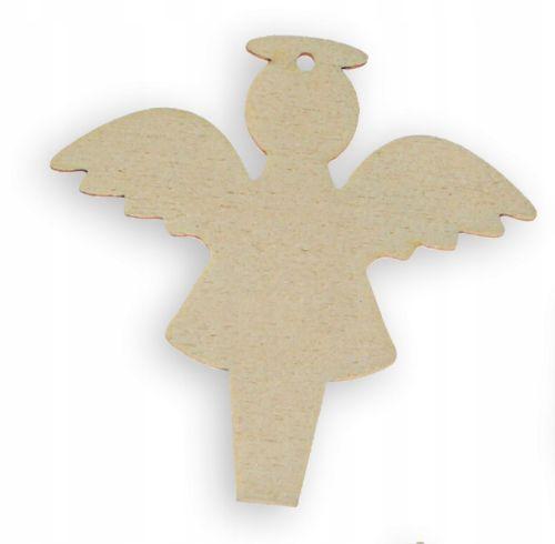 Scrapki ze sklejki - aniołek 10 cm