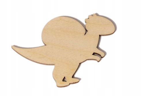 Scrapki - dinozaury 10 cm - komplet 4 sztuk